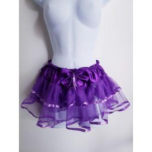 Dresses & Skirts - Purple Tutu w/ Ribbon